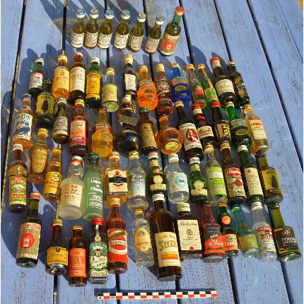 Mignonnettes d'alcools
